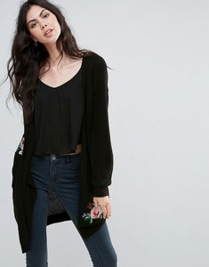 Read more about Vero moda floral embroidered cardigan - black