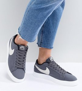 Read more about Nike sb blazer vapor trainers in grey - grey