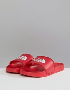 Read more about The north face base camp sliders ii in red white - red white
