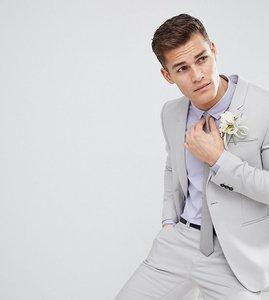 Read more about Noak skinny wedding suit jacket - dusky blue
