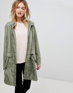 Read more about B young lightweight parka - cedar green