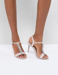 Read more about Coast embellished heel shoes - blush