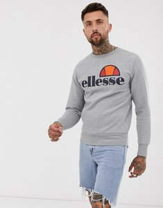 Read more about Ellesse sweatshirt with classic logo in grey - grey