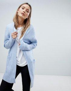 Read more about In wear kiki mohair wool blend open cardigan - light sky