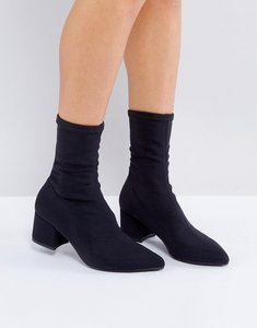 Read more about Vagabond mya black stretch sock boots - black