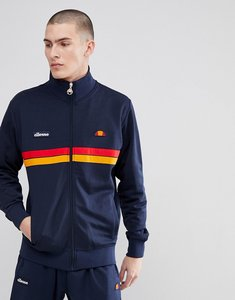 Read more about Ellesse jacket with funnel neck in navy - navy