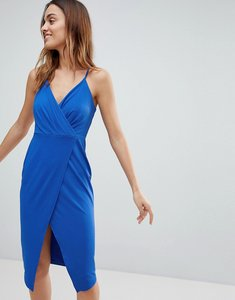 Read more about Ivyrevel plunge front wrap dress - cobalt