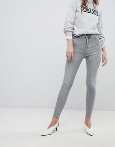 Read more about New look india fray hem jean - charcoal