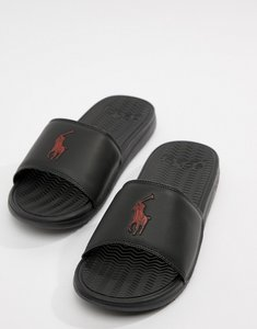 Read more about Polo ralph lauren rodwell summer sliders large player in black - black