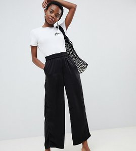 Read more about Vero moda petite wide leg trouser with elasticated waist