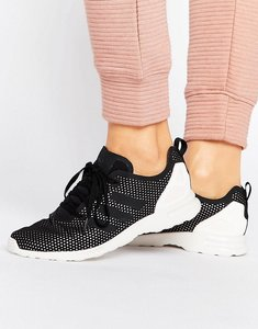 Read more about Adidas zx flux adv smooth performance trainers - cblack cwhite