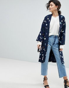 Read more about Selected femme printed kimono - multi