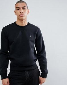 Read more about Polo ralph lauren player logo crew neck sweatshirt in black - polo black