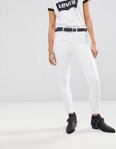Read more about Levi s mile high super skinny jean - western white