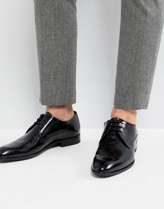 Read more about Hugo derby patent leather shoes in black - 001