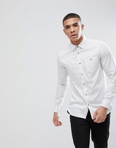 Read more about Ted baker slim shirt in spot - white
