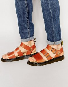Read more about Dr martens gryphon sandals - brown