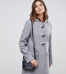 Read more about Asos design classic duffle with pocket detail - grey