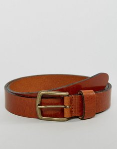 Read more about Esprit belt in leather - brown