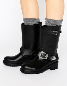 Read more about Asos gallivant western wellies - black