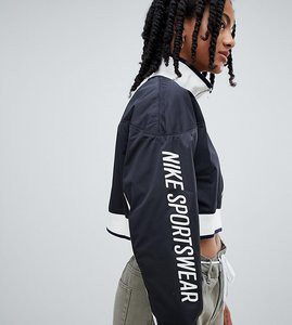 Read more about Nike archive track jacket in black - black