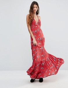 Read more about Raga the sangria razor back maxi dress - red
