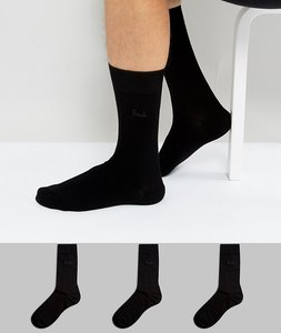 Read more about Pringle endrick socks in 3 pack - black