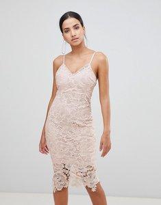 Read more about Ax paris lace cami midi dress - blush