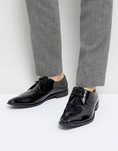 Read more about Frank wright derby shoes in patent leather - black