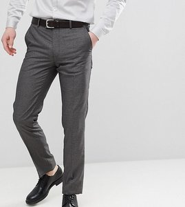 Read more about Farah skinny dogtooth suit trousers - grey