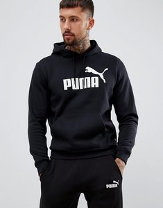 Read more about Puma essentials pullover hoodie in black 85174301
