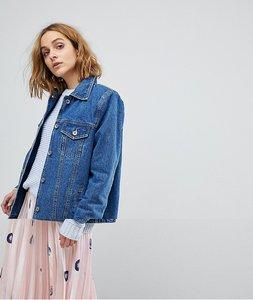 Read more about Vero moda boyfriend denim jacket - blue