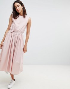 Read more about Kowtow dance with me organic cotton pinafore dress - rose