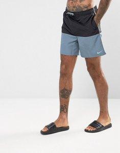 Read more about Nike split super short swim shorts in black ness7427001 - black