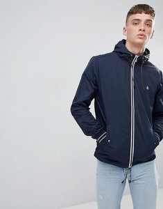 Read more about Original penguin lightweight jacket hooded nylon in navy - dark sapphire