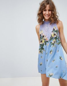 Read more about Free people marsha festival printed dress - sky