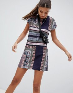 Read more about Noisy may festival print dress - multi