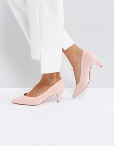 Read more about Asos salsa kitten heels - peach