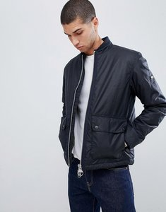 Read more about Barbour international injection wax jacket in navy - navy