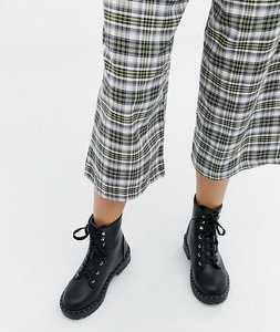 Read more about Truffle collection wide fit chunky flat boots