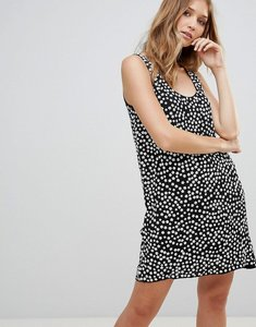 Read more about French connection dorothy drape print shift dress - black white