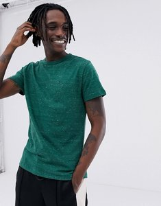 Read more about Tommy jeans essential flag logo t-shirt in green marl