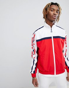 Read more about Fila black line ezra track jacket in red - red