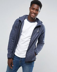 Read more about Hollister full zip hoodie athletic icon logo in navy - navy