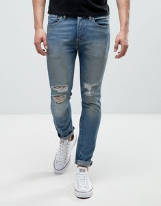Read more about Levis 501 skinny bad boy wash busted knees - bad boy