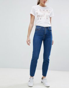 Read more about Tommy jeans izzy high waist mom jean - dark blue