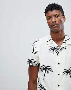 04cf94dbbc1 Read more about Jack jones originals short sleeve shirt with revere collar  in palm tree print
