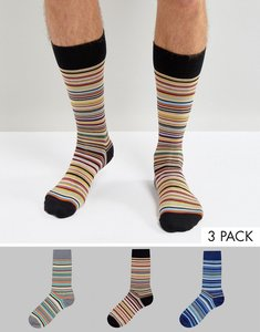 Read more about Ps by paul smith multi stripe pack socks - multi
