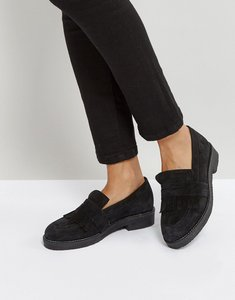 Read more about Office farrow suede flat shoes - black
