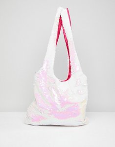 Read more about 7x trophy slouch sequin shopper bag - irridescent